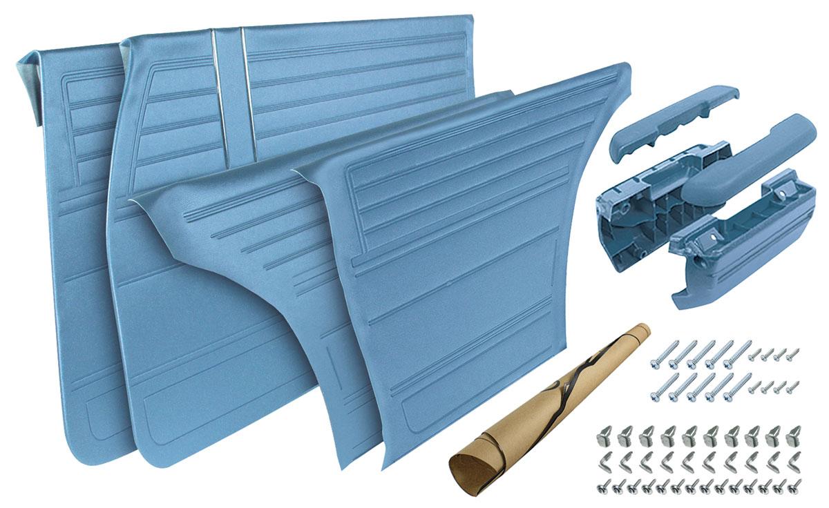 Door Panel Restoration Kit Complete Chevelle Convertible