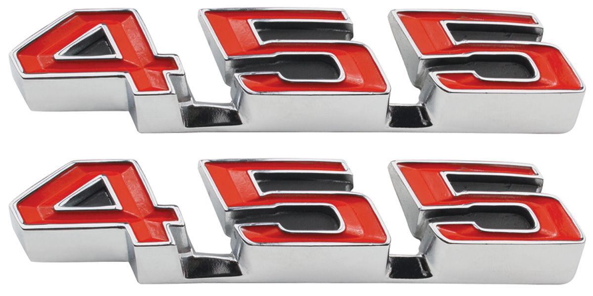 Gto Rocker Panel Emblem 1970 72 Quot 455 Quot Opgi Com