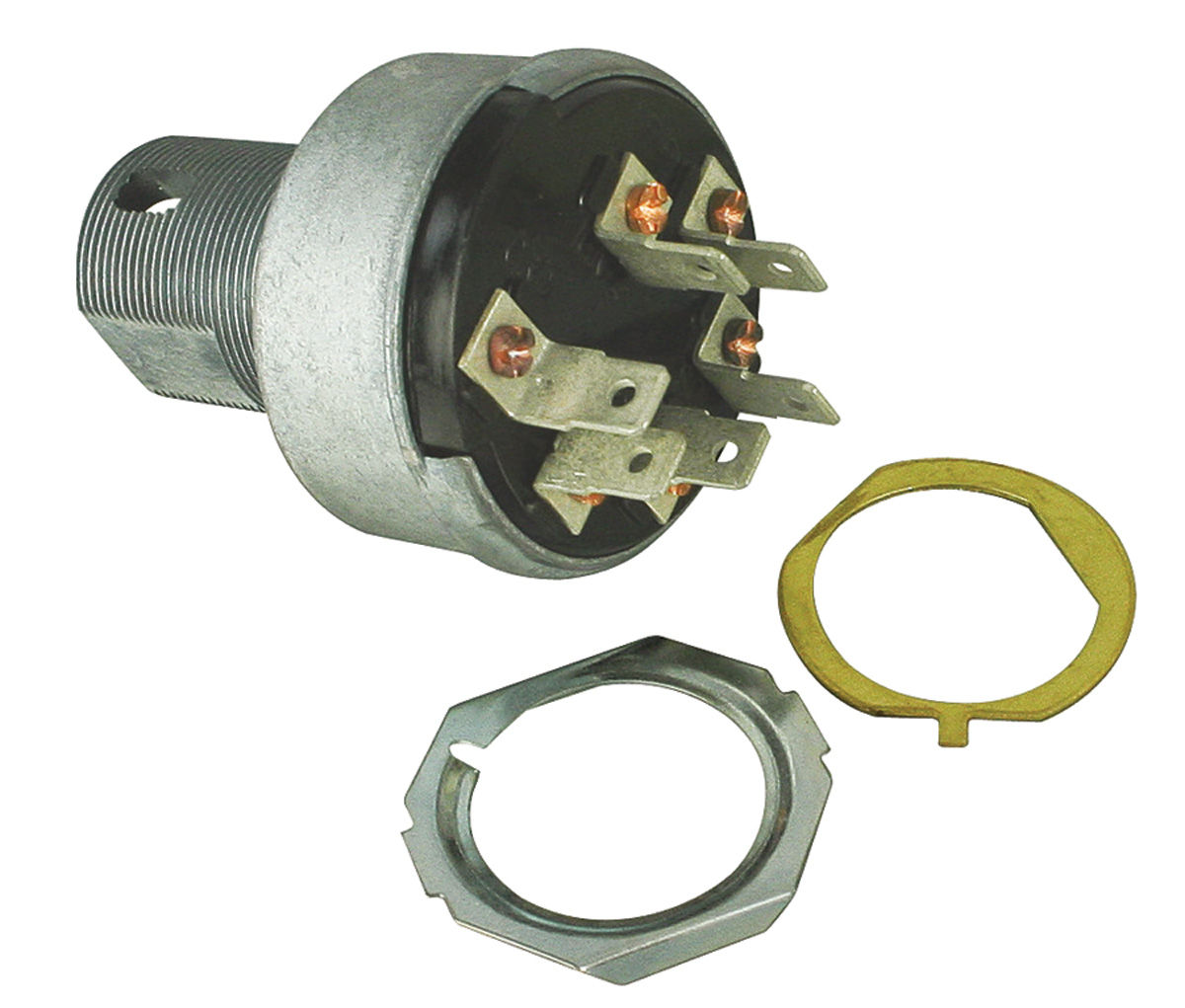 1964-65 GTO Ignition Switch W/o AC, W/o Tumbler For Years
