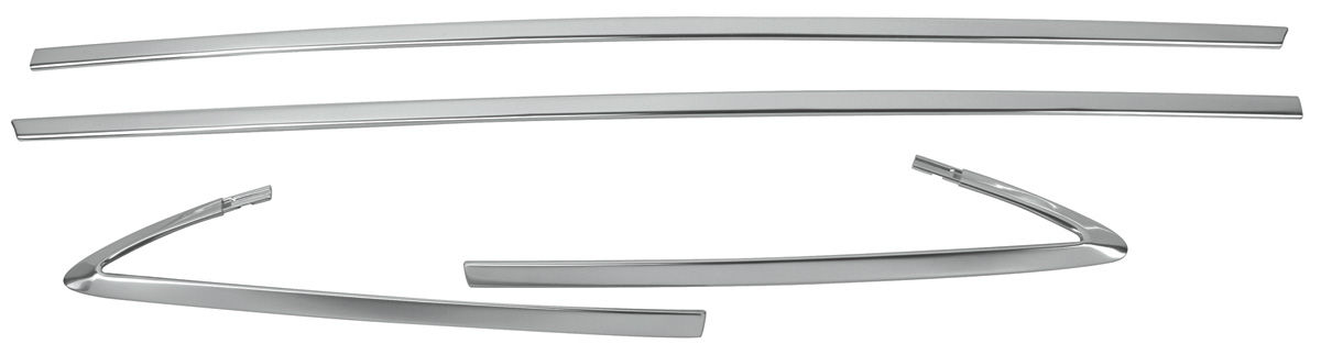 Restoparts Cutlass 442 Vinyl Top Moldings Cutlass 4 4 2