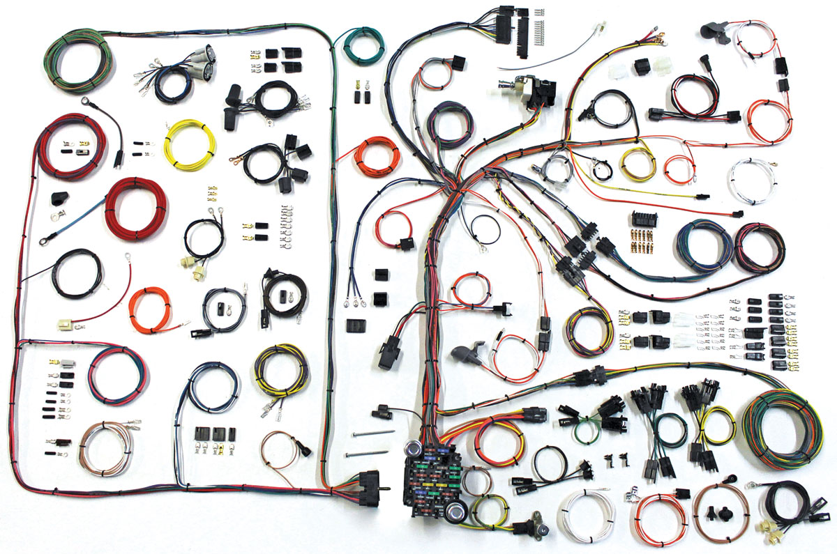 american autowire 1968 72 gto wiring kit classic update opgi