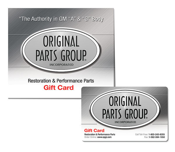 Original Parts Group Gift Card OPGI