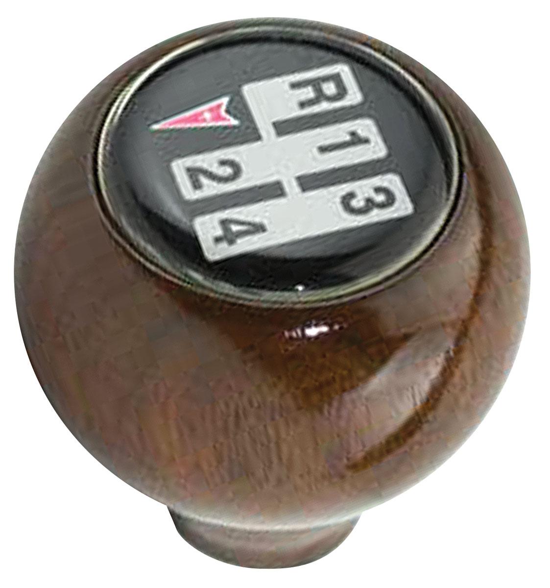 Grand Prix Shifter Knob Walnut 4 Speed Walnut Wood W
