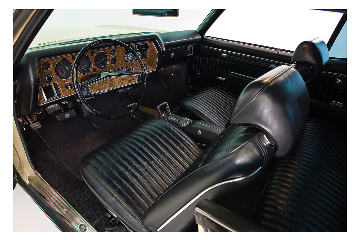 1971 72 Interior Kit Stage Iii Monte Carlo Buckets