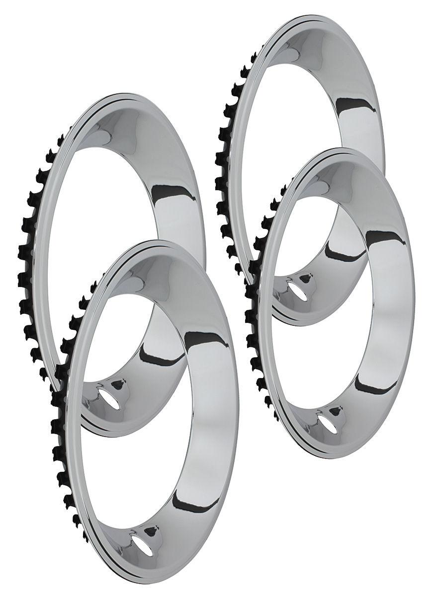 1978-88 Monte Carlo Wheel Trim Rings, Rally (Stainless ...