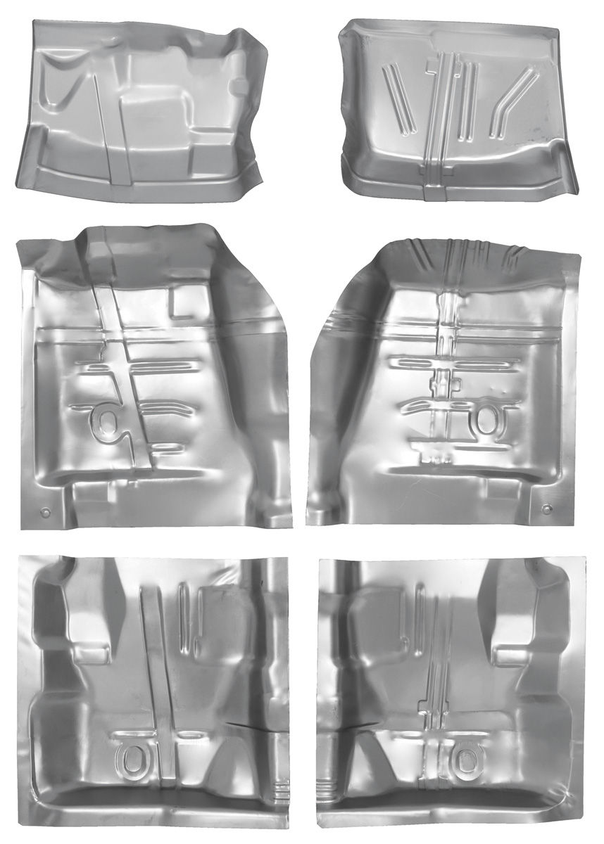 Monte Carlo Floor Pan Sections Complete Set W Firewall