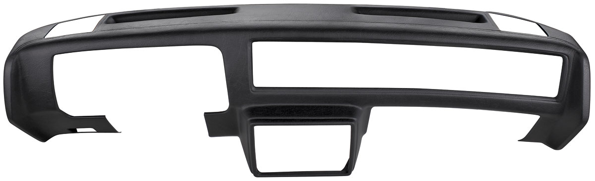 Dash Pad Outer Shell, Molded full face - side speakers