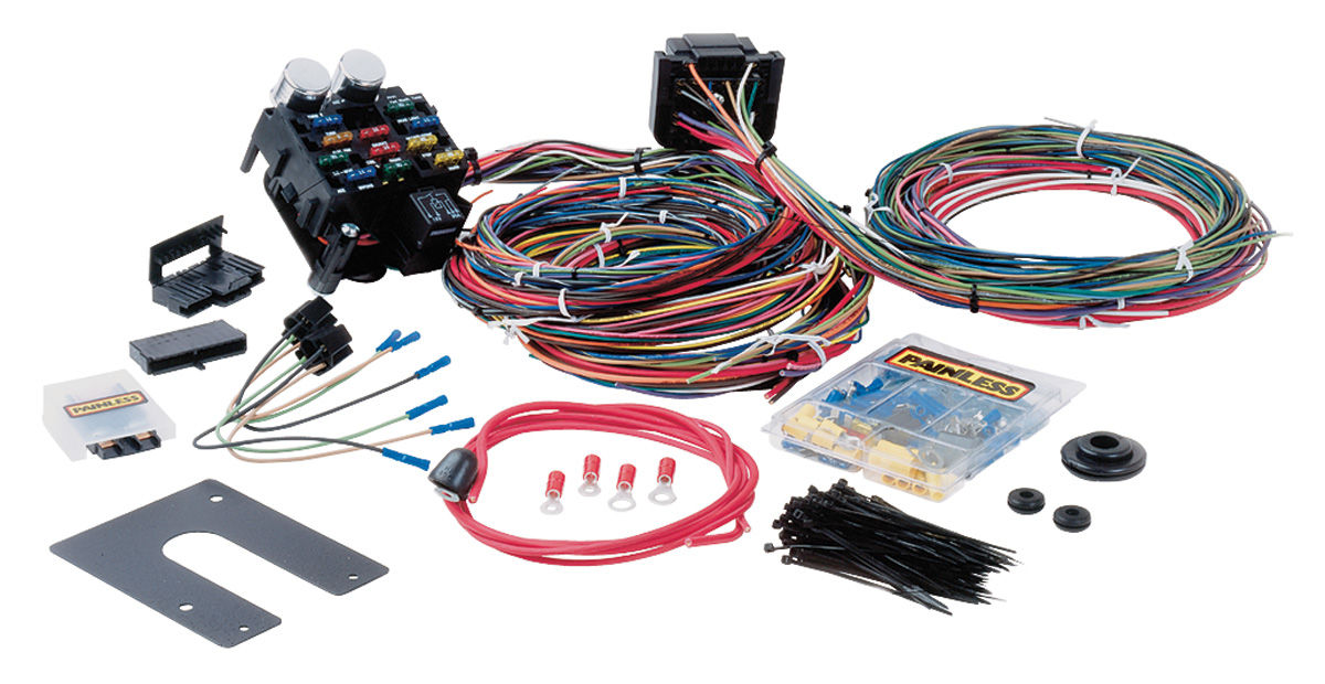 L240316 lrg painless performance 1978 88 el camino wiring harness, muscle car 1978 ford wiring harness at arjmand.co