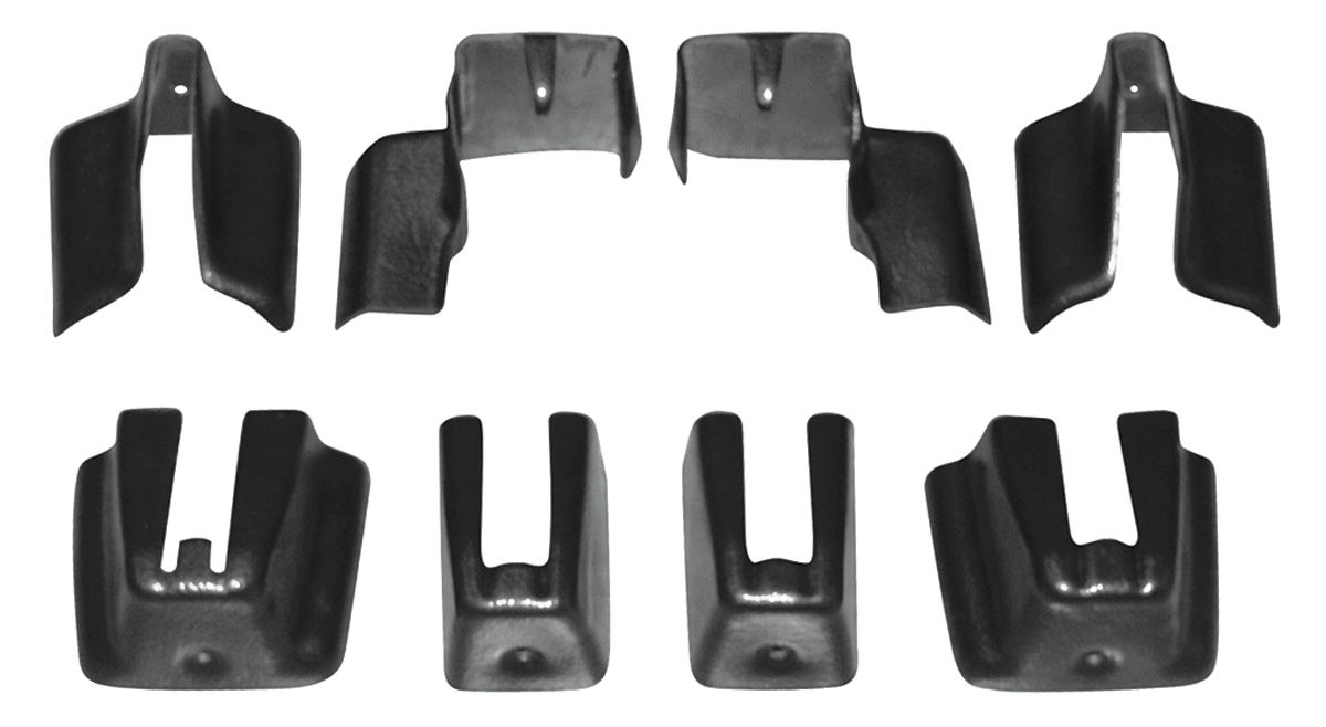 Seat Track Covers bucket seat, lower track, 8-piece