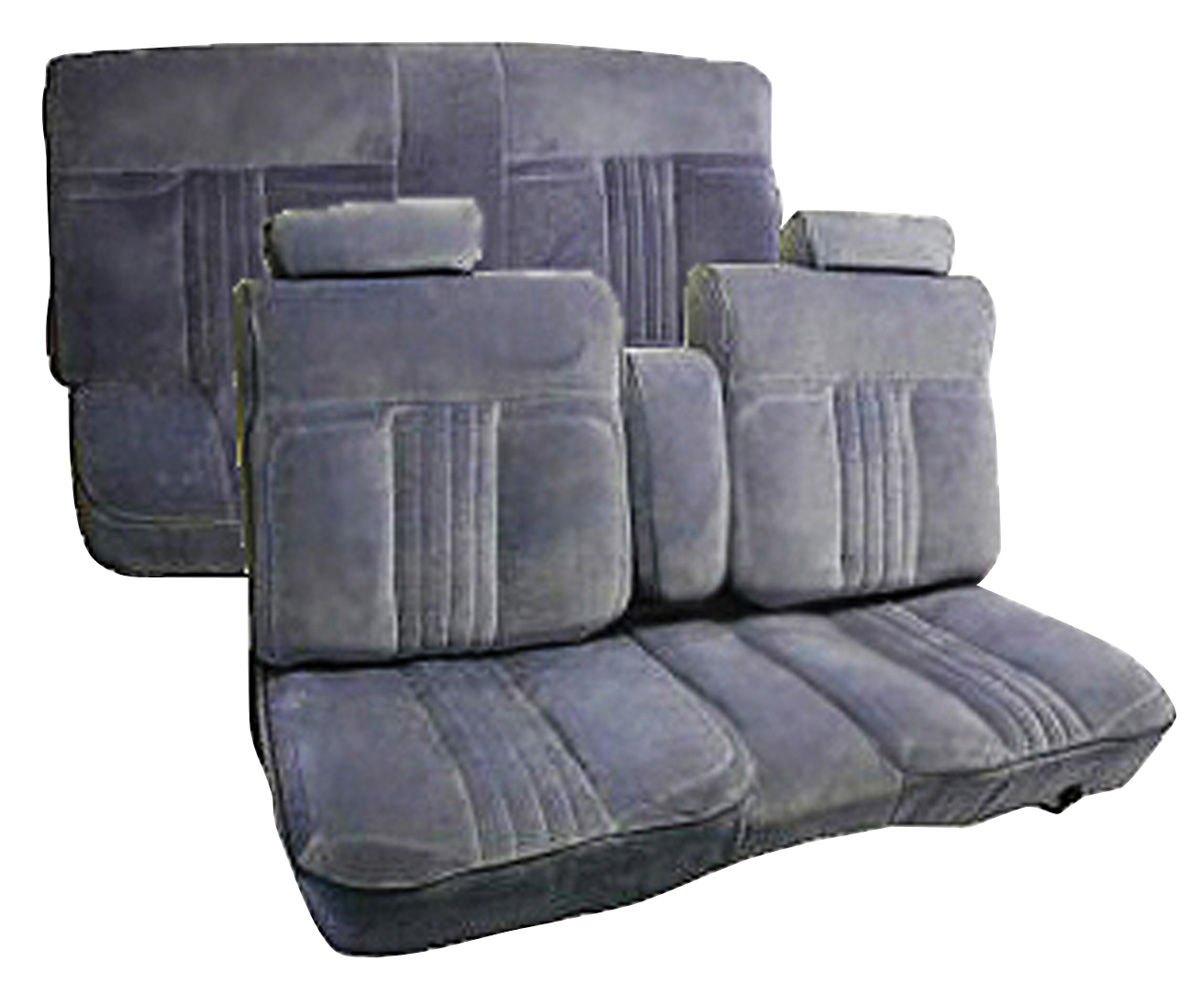 Seat Upholstery 1982 86 Custom Cloth Notchback Bench El