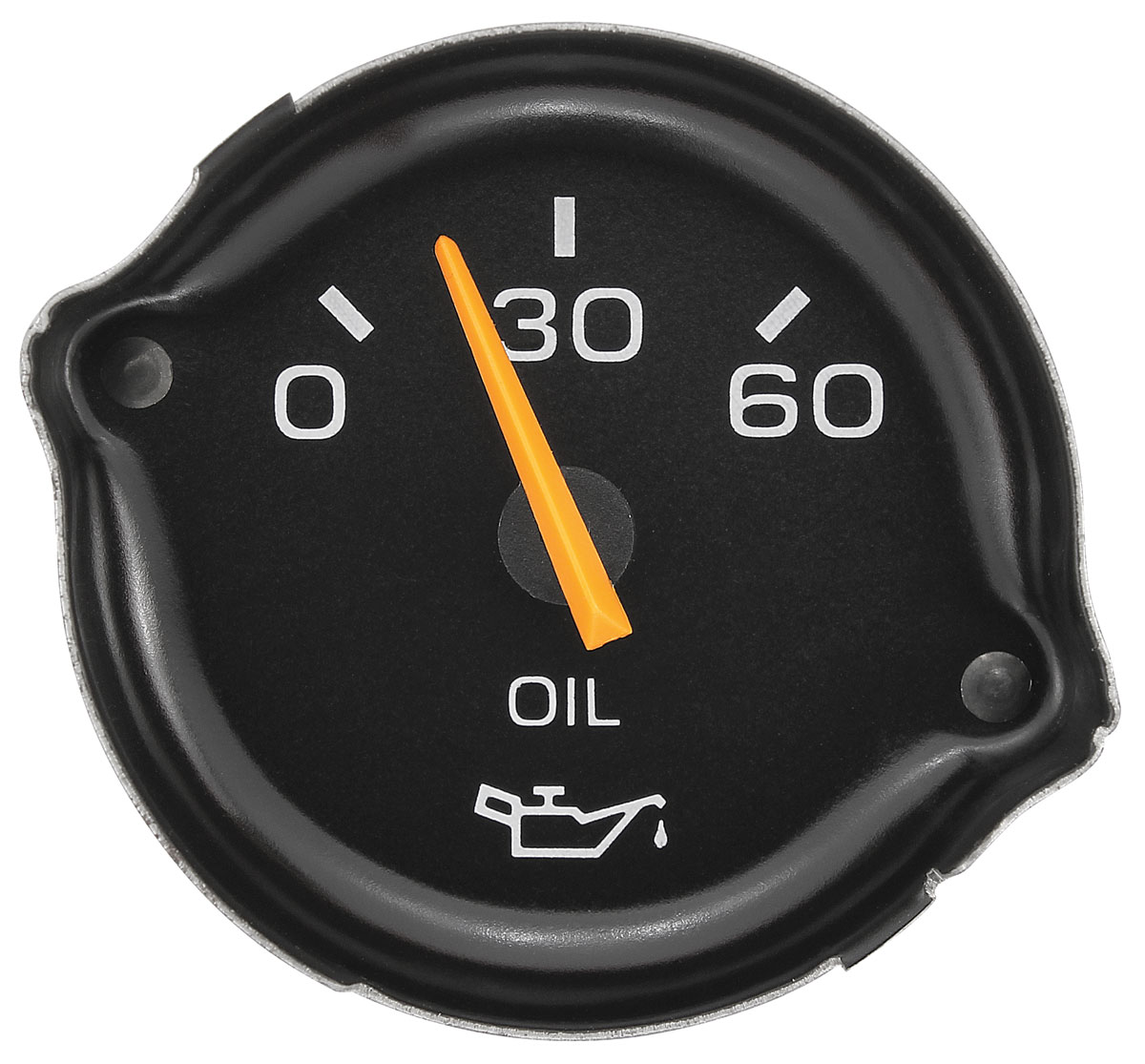 Gauge Reproduction Oil Pressure Oe 25025579 Fits 1979