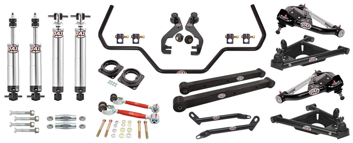 El Camino Drag Race Suspension Kits G Body Qa1 With
