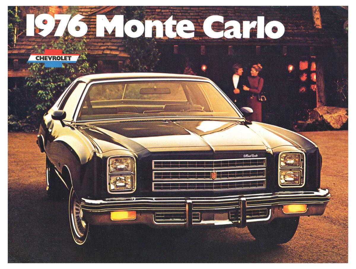 Monte Carlo Full Color Sales Brochure Fits 1976 Monte