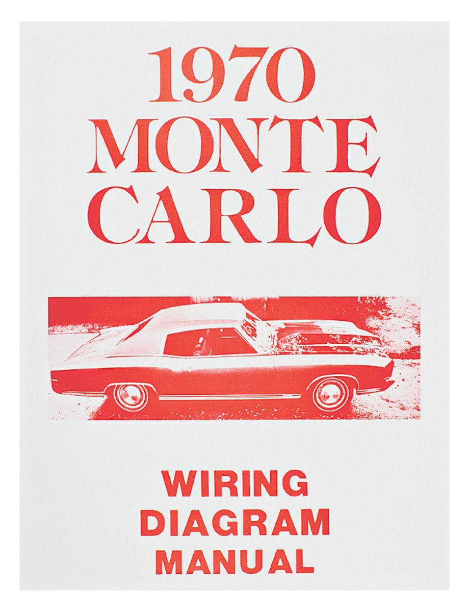 Monte Carlo Wiring Diagram Manuals @ OPGI.com