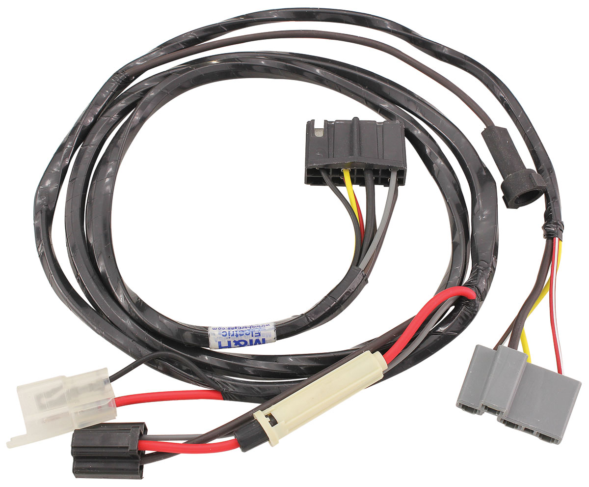 MH05175 lrg m&h 1961 air conditioning harness tempest lemans, w heater wiring air conditioner wire harness for 1999 f 350 at gsmx.co