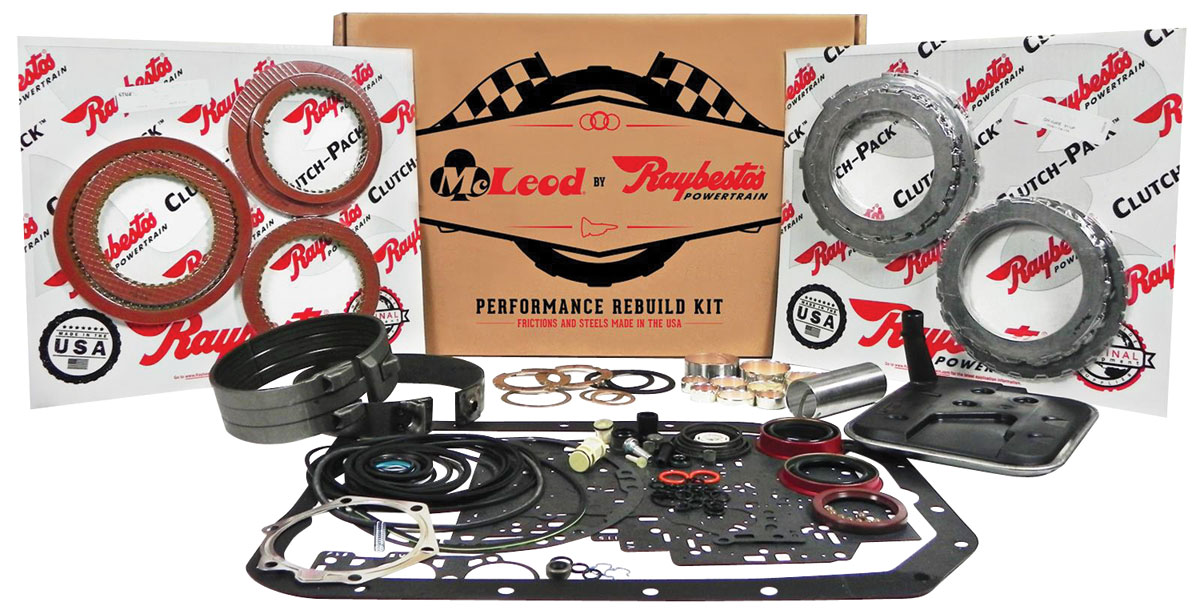 Gto Rebuild Kit Performance Mcleod Racing 1962 73 Powerglide
