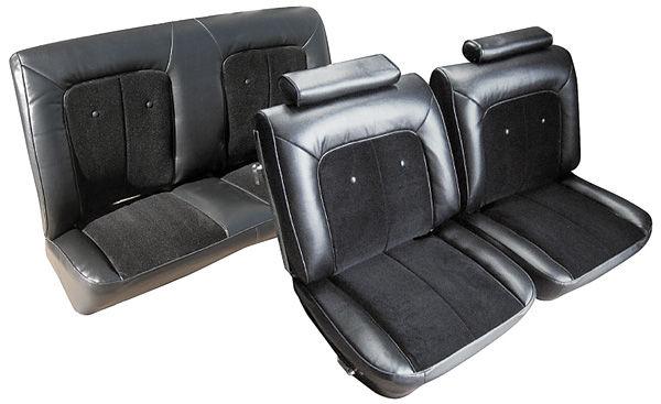 Monte Carlo Seat Upholstery, 1975-77 Velour (Front Split ...