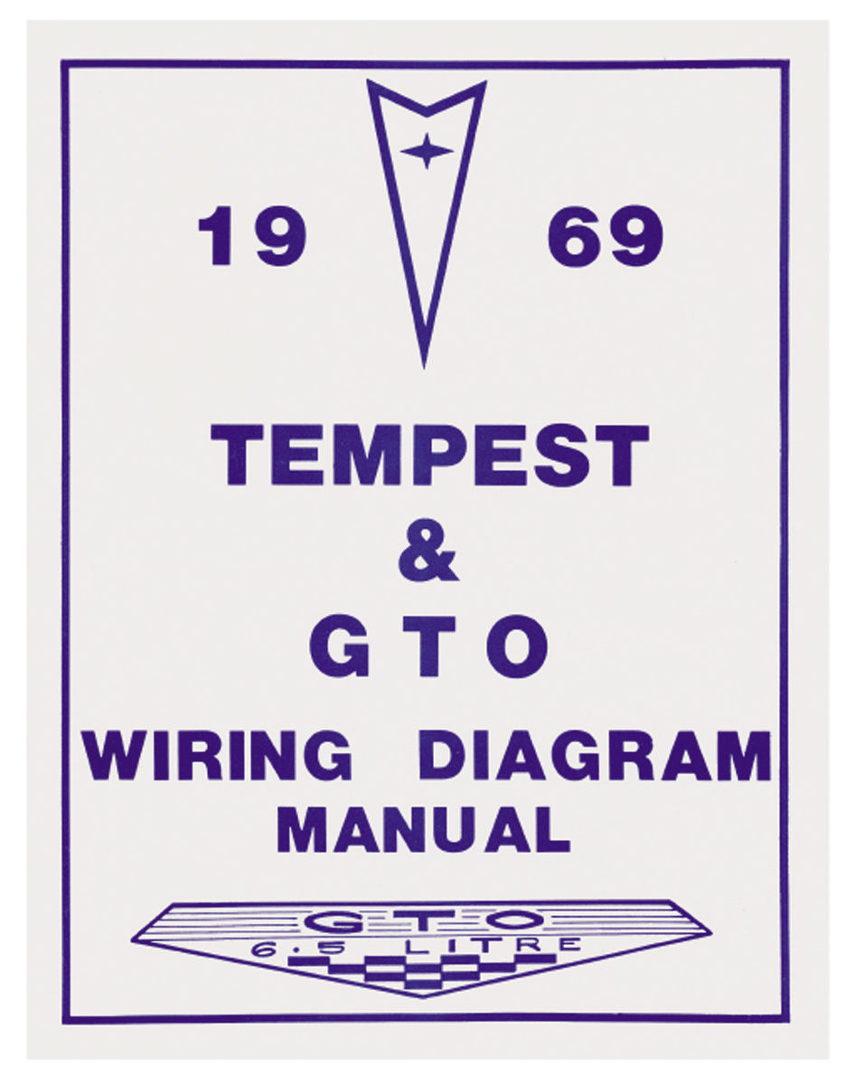 Wiring Diagram Manuals Fits 1969 Gto   Opgi Com