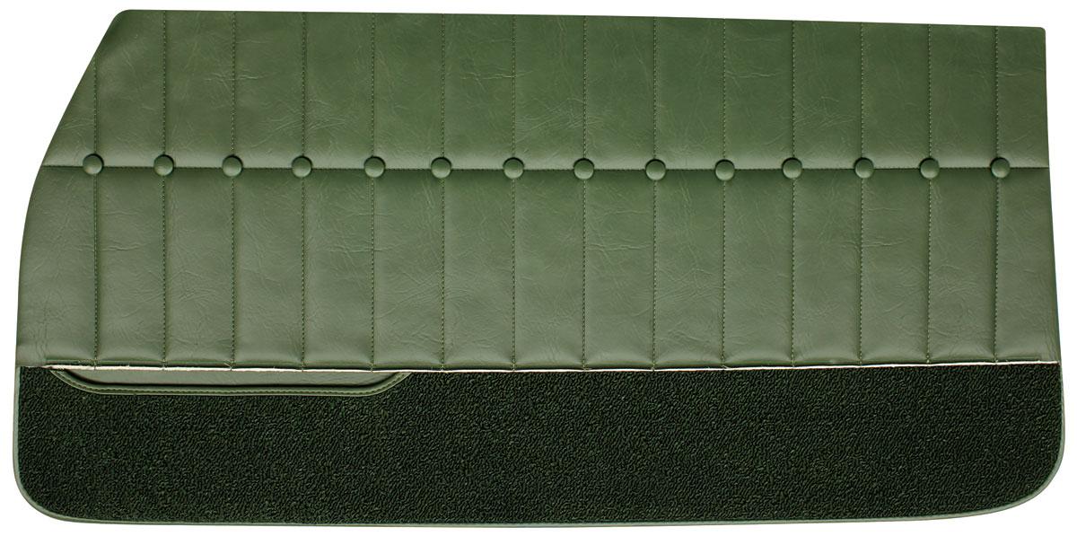 Pui Monte Carlo Door Panels 1971 72 Front Fits 1971 72