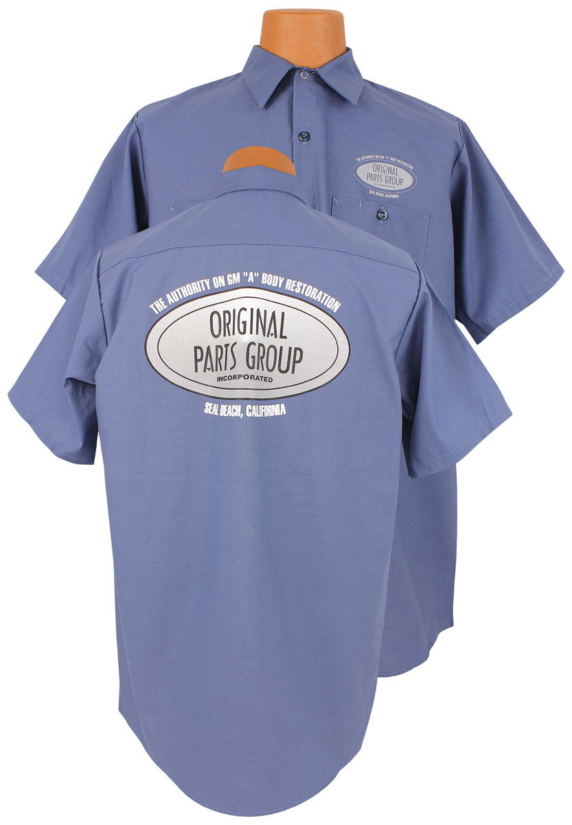 Original Parts Group Shop Shirt Blue OPGI