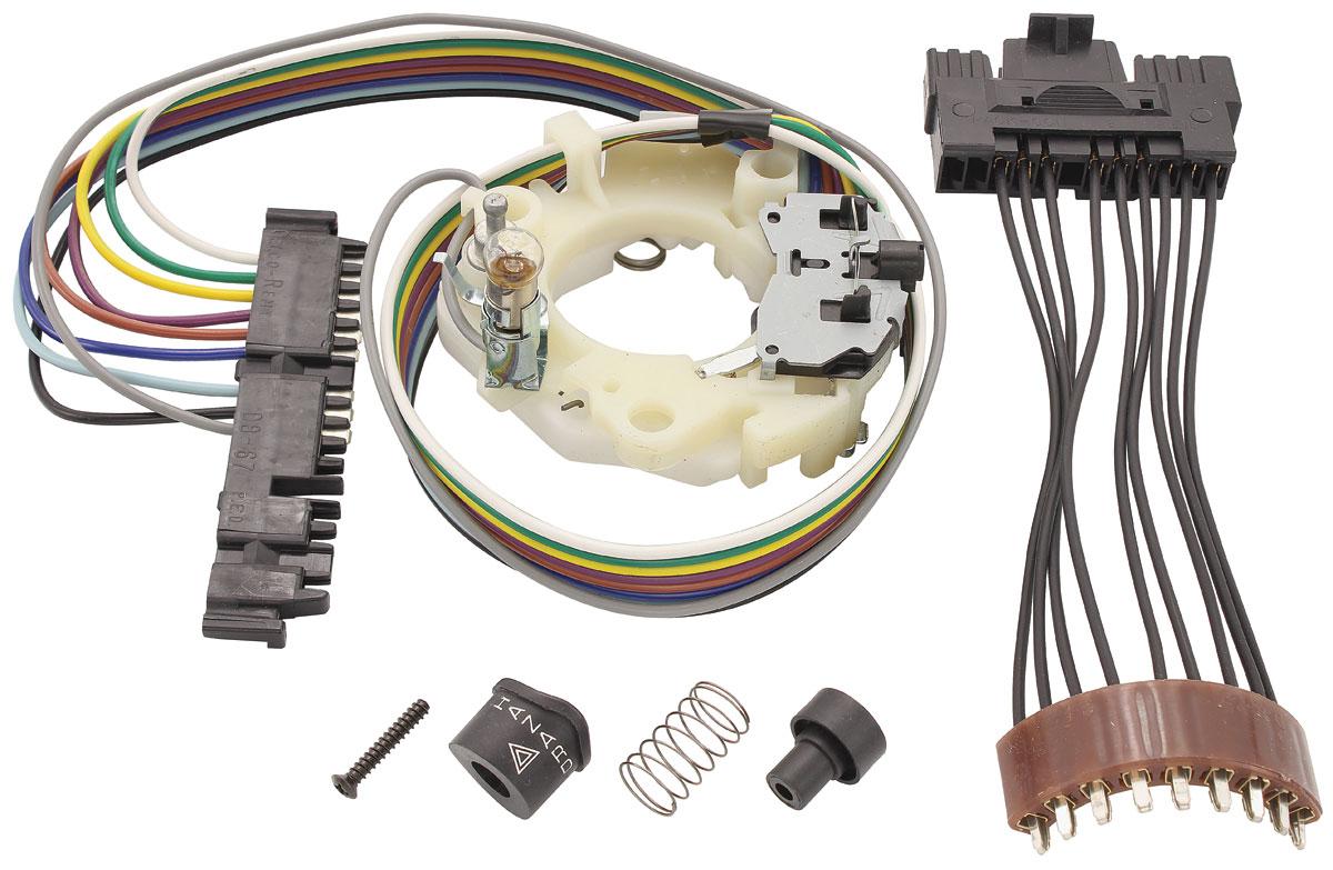 PP00032_2 lrg?v=72720151511 m&h 1967 68 chevelle turn signal & hazard light switch assembly  at bayanpartner.co