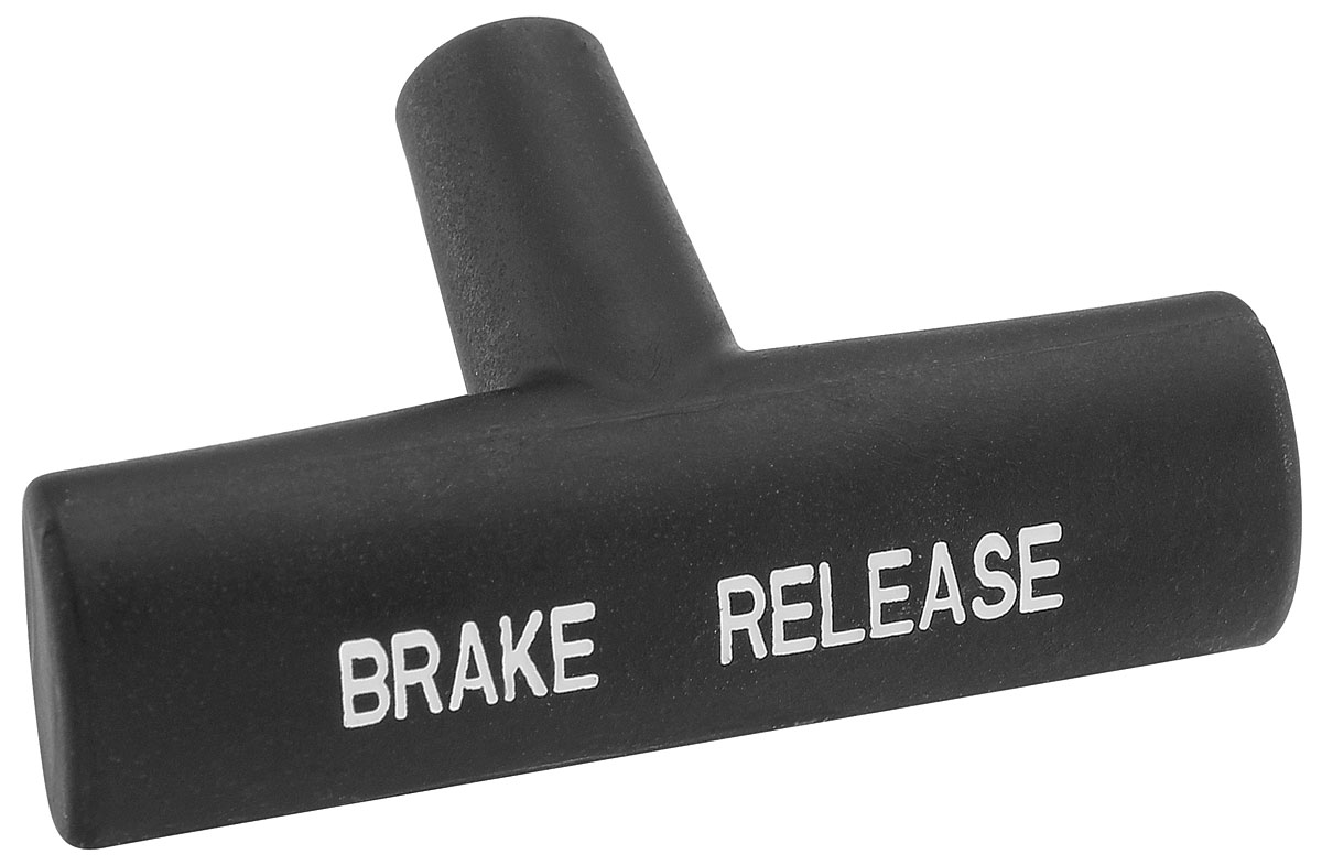 Restoparts Chevelle Parking Brake Release Handle Black