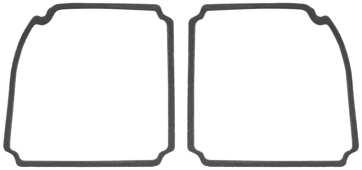 restoparts tail lamp lens gaskets  1969 chevelle fits 1969