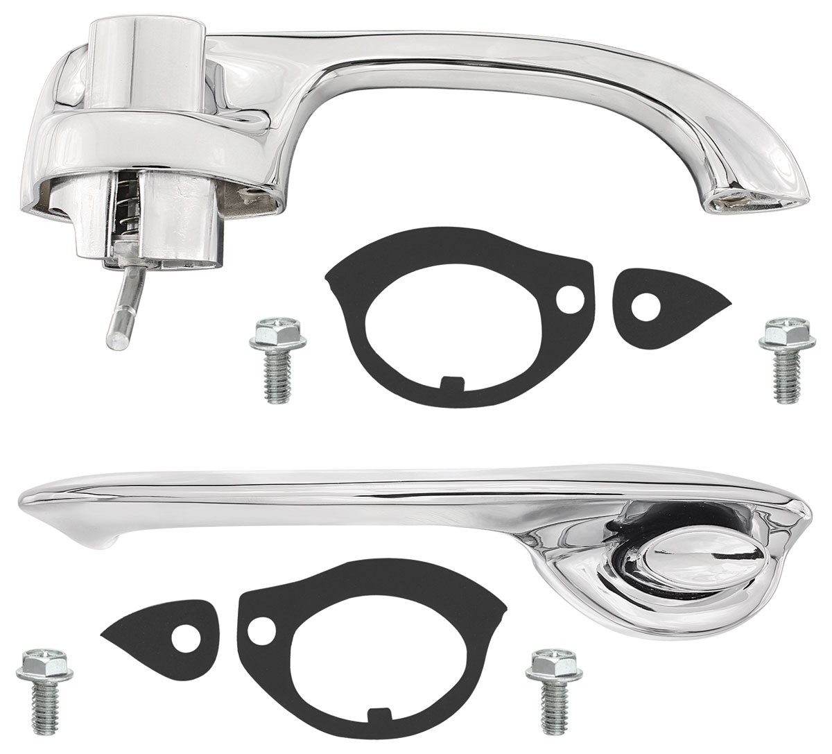 USA-Made Skylark Front Door Handle Assembly New Trim Parts! 1970-72 Chevelle