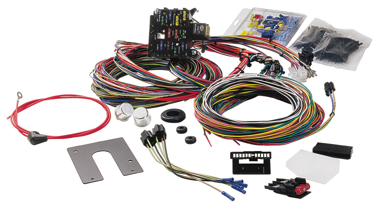 painless performance wiring harness 21-circuit classic gm keyed column  w/signal fits 1969-72 chevelle @ opgi com