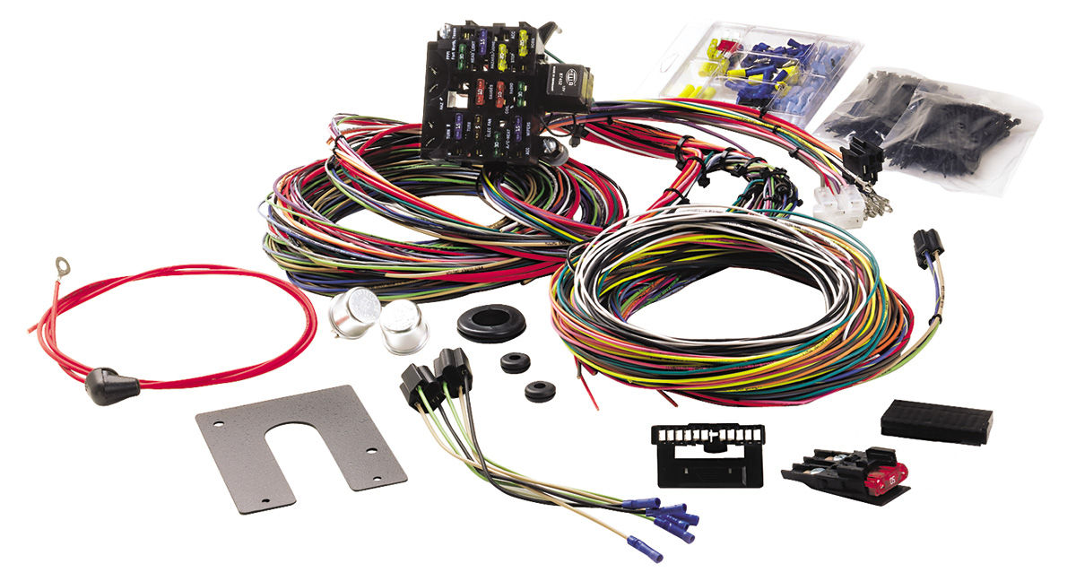 S210121 lrg painless performance 1964 68 chevelle wiring harness 21 circuit Wire Single Life 4 Harnesstionships at gsmx.co