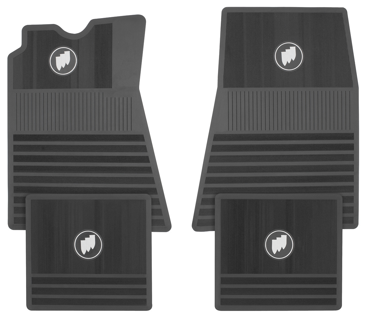 Skylark Floor Mats Tri Shield Fits 1961 72 Skylark Opgi Com