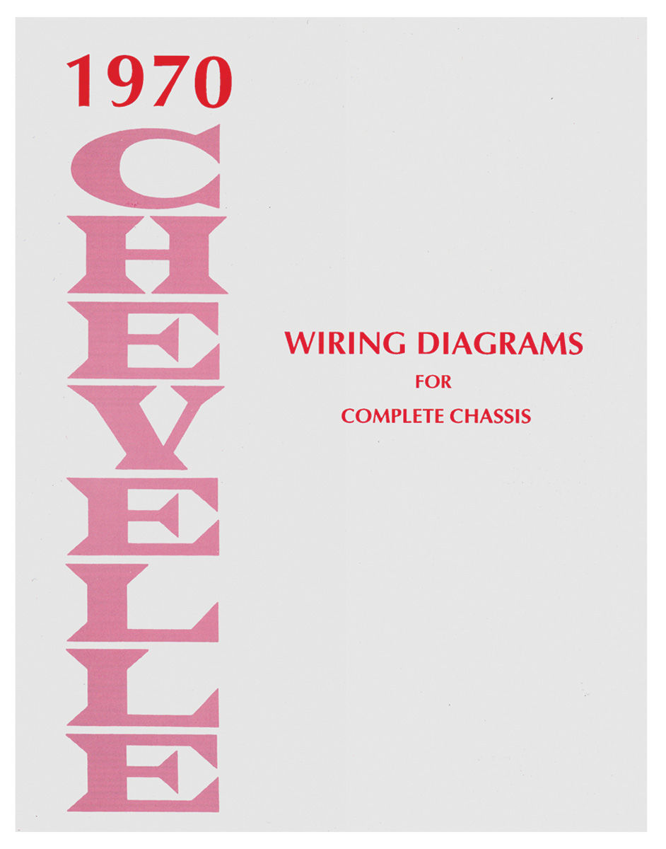 Chevelle Wiring Diagram Manuals Fits 1970 Chevelle   Opgi Com