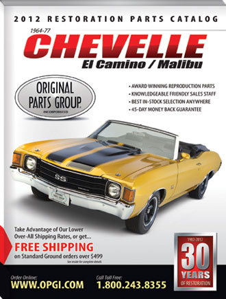 For nearly 30 years OPG has led the way in Chevelle and El Camino