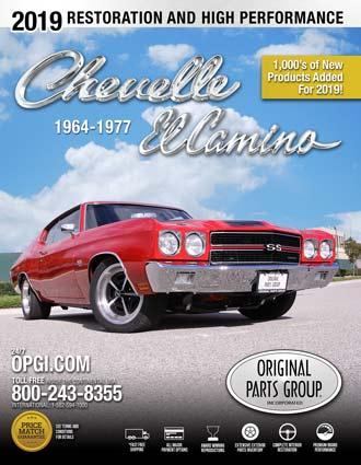 Free 1964-77 Chevelle/El Camino Restoration Parts Catalog @ OPGI com