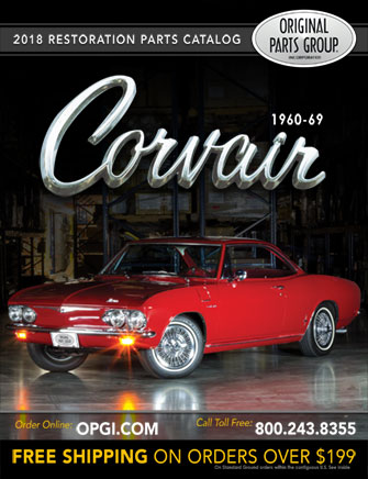 1960-69 Corvair Parts Catalog