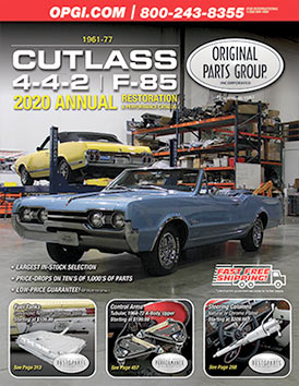 1969 OLDSMOBILE 4-4-2 F-85 CUTLASS 442 OWNERS MANUAL