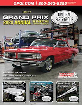 1968 Pontiac GTO Chrome LeMans Grand Prix Radiator Top Plate Tempest