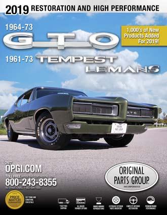 Free 1961-1973 GTO, LeMans, and Tempest Parts Catalog @ OPGI com