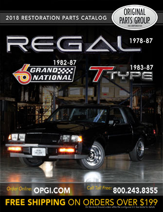 1978-1987 Buick Grand National, Regal & T-Type Parts Catalog
