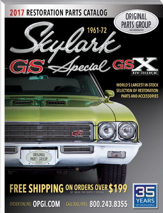 1961-1972 Special, Skylark, GS and GSX Parts Catalog