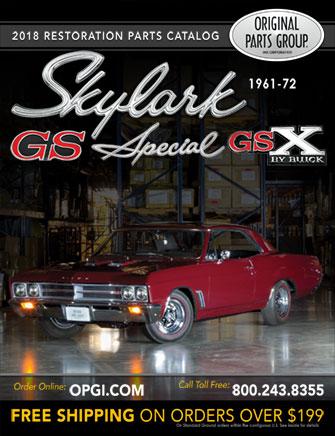 Free 1961-1972 Skylark, Special, GS & GSX Parts Catalog @ OPGI.com