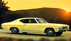1968 chevelle brochure cover