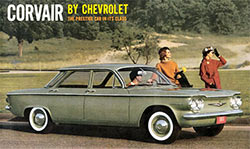 Corvair by Chevrolet brochure