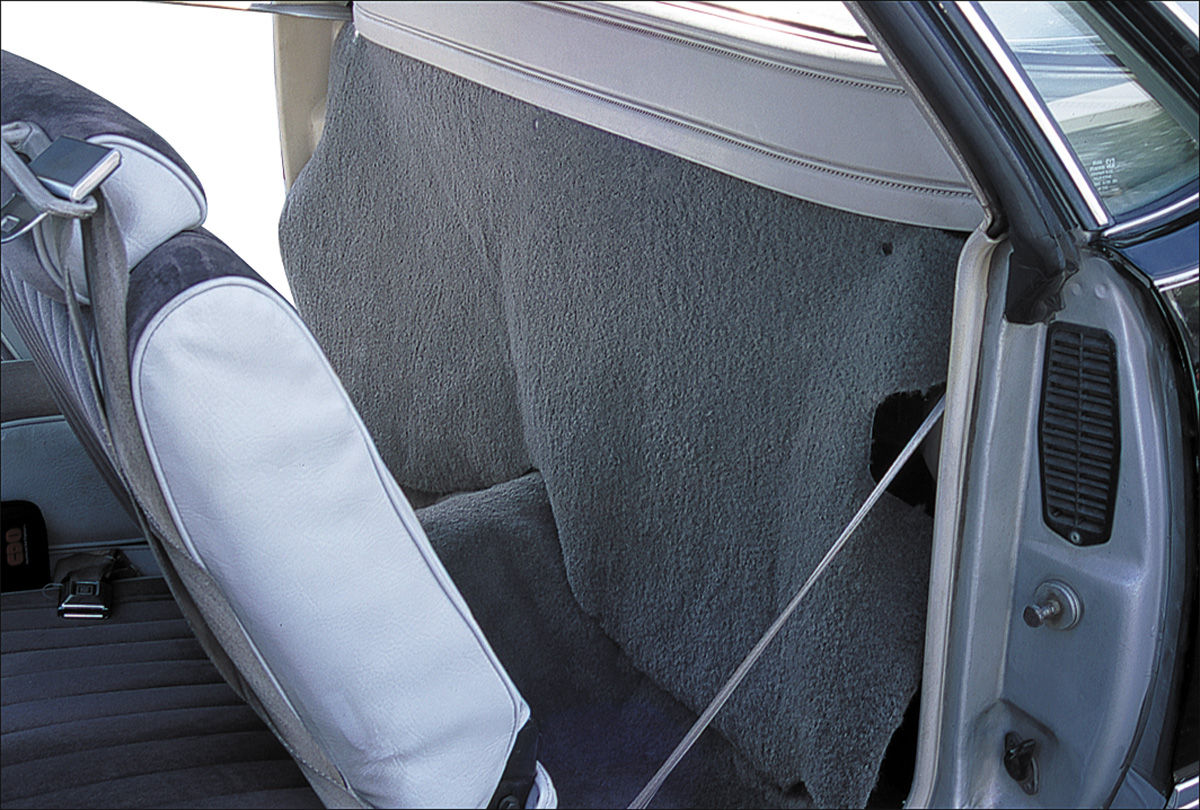 Curtain, Rear Cargo, 1978-87 El Camino