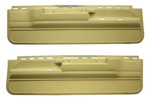 Door Panels, 1978-88 MC/EC/1978-83 MAL, Front Lower, w/Power Locks/Remote Mirror