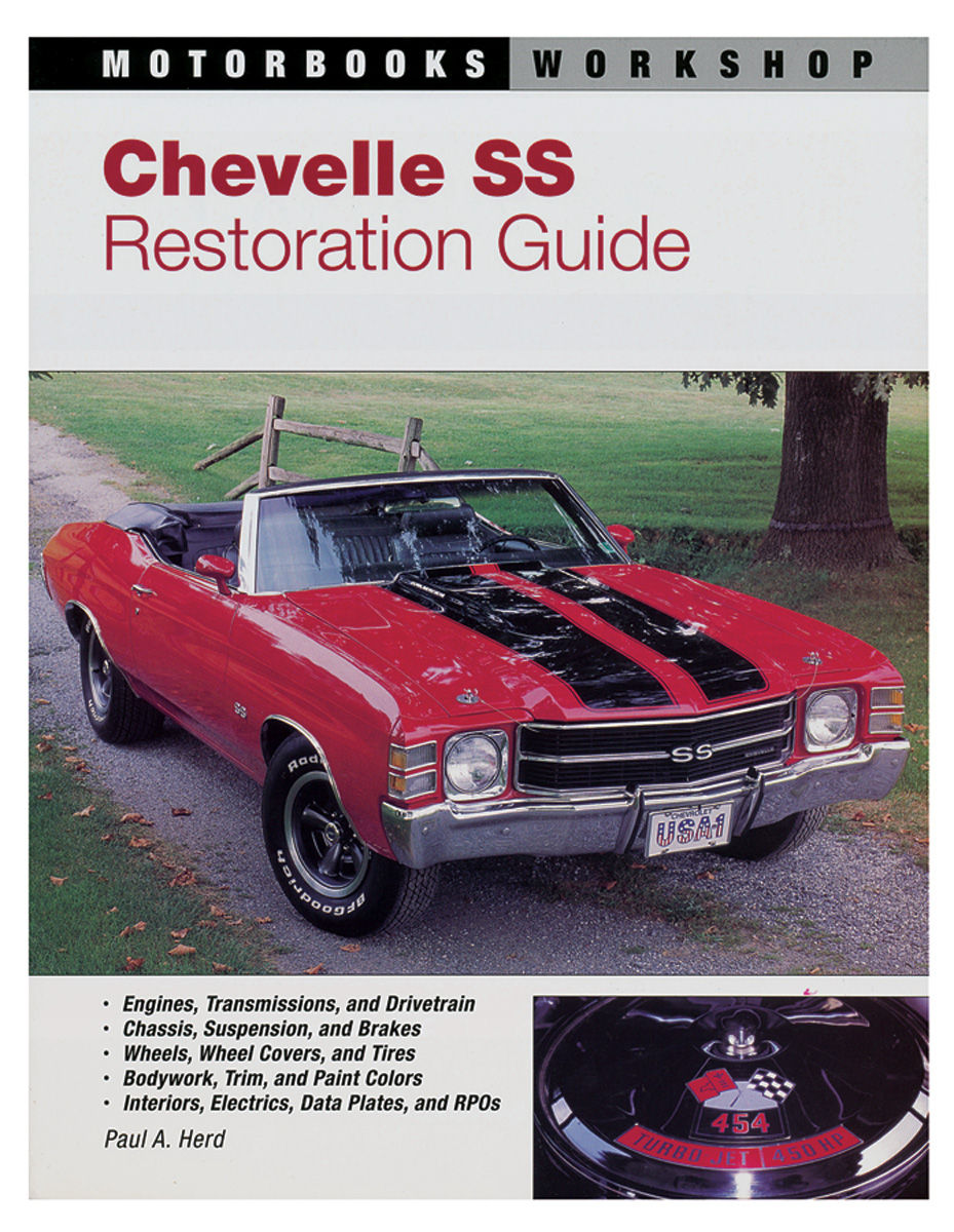 1966 Chevelle and El Camino Accessory Color Catalog Illustrated SS Malibu