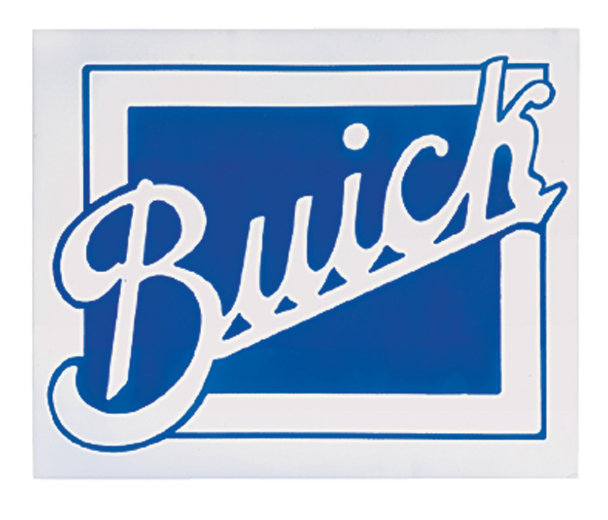 "Decal, Buick, 8-3/8"" X 10-1/8"""