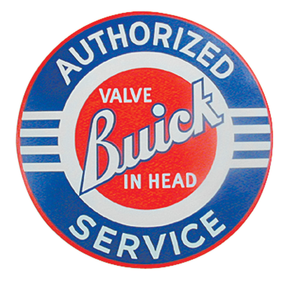 Decal, Buick, Authorized Service, 10""