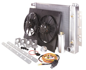 Cooling Module Assembly, Be Cool, 1978-87 G-Body, AT, Satin