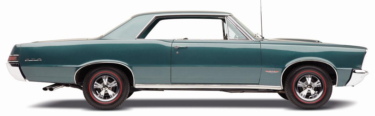 1966-67 Pontiac GTO LeMans Convertible Belt Line Quarter Moldings